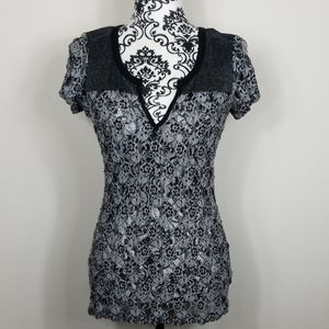 Women's Large BKE Boutique Shortsleeved blouse
